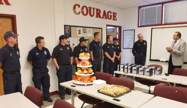 14 Amarillo firefighters honored for service during Harvey