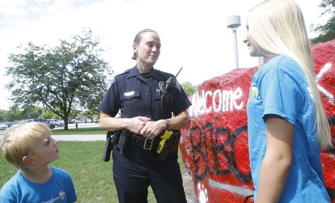 "DARE officer to receive honors, ""pick-me-up"" box"