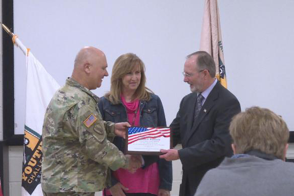 Guardsman Receives High Honors for His Service in the Community