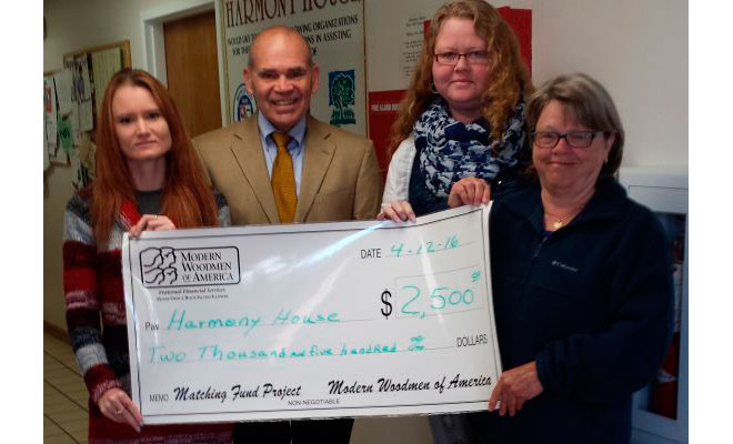 Modern Woodmen Helps Raise Funds For Harmony House