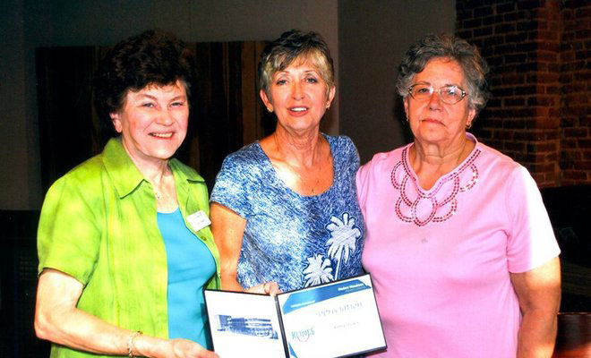 Fedele recognized for her many volunteer hours