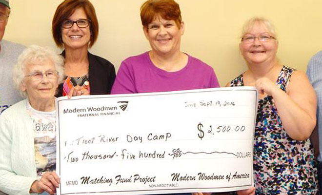 Modern Woodmen match funds for the handicapped