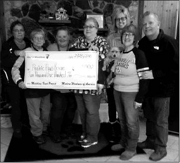 Modern Woodmen donates funds to Prairie Paws Rescue