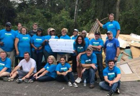 Modern Woodmen help in Florence cleanup