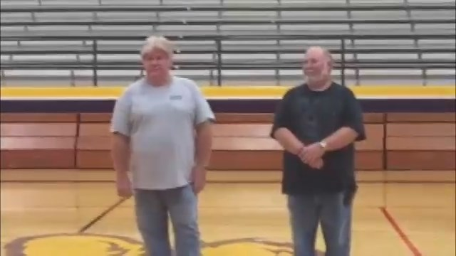 2 long-time custodians at Bloomfield H.S. honored with Hometown Hero Awards