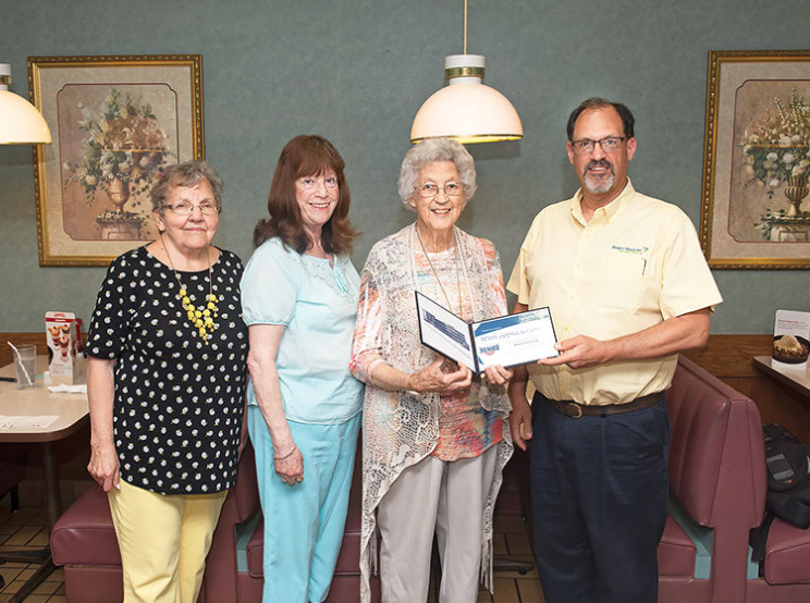 Mary Ellen Bishop celebrated as Hometown Hero