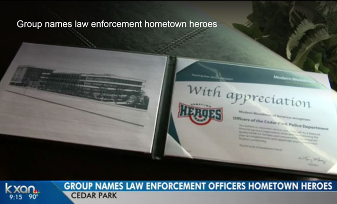 Local Group Names Law Enforcement Officers Hometown Heroes