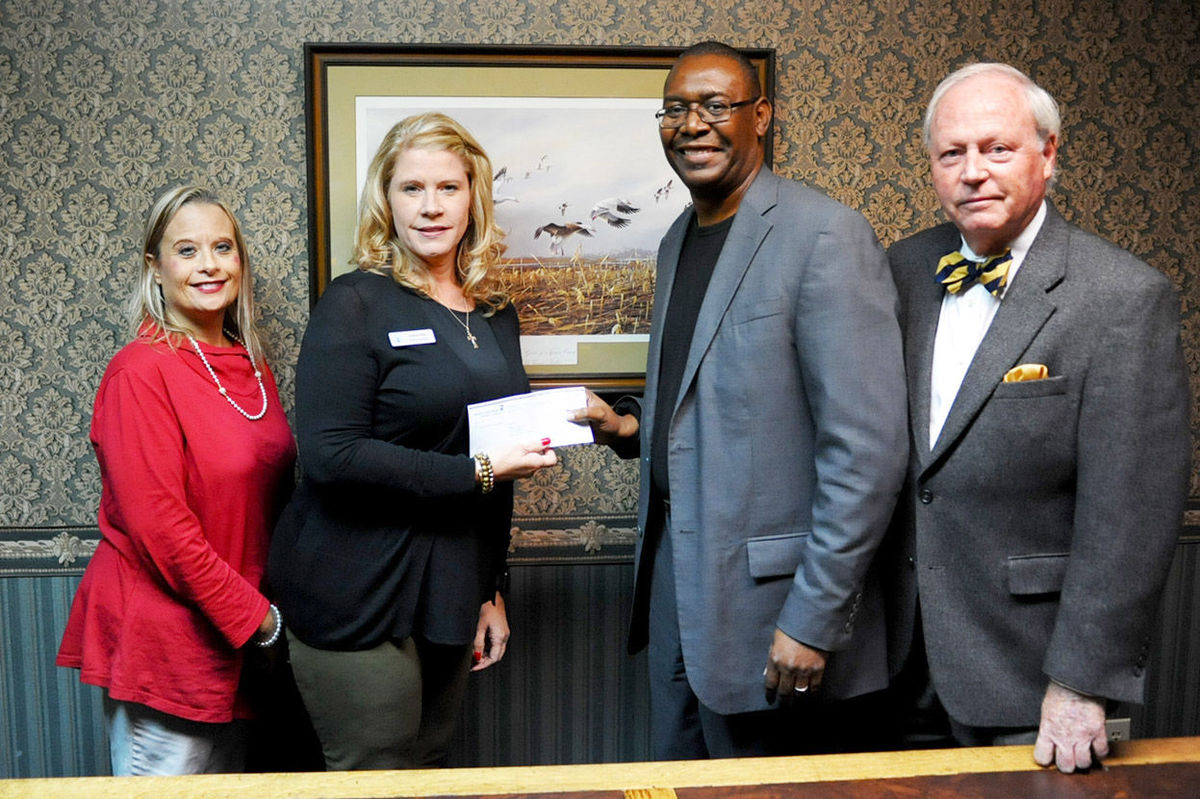 Modern Woodmen, Talladega Rotary Club donate $500 to Talladega High School