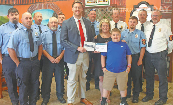 Modern Woodmen honor late firefighter as hometown hero
